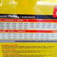 Photo taken at Buenos Aires Bus - Stop 0: Diagonal Norte by Eva on 2/22/2015