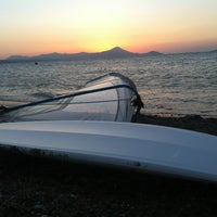 Photo taken at Surf Point Χαλκουτσι by kalli g. on 6/24/2013