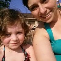 Photo taken at Carver lake beach by Kristin L. on 6/10/2014
