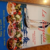 Photo taken at La Barquita Restaurant by Eric S. on 3/20/2013