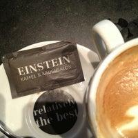 Das Foto wurde bei Café Einstein von YKV am 3/18/2013 aufgenommen