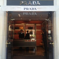Photo taken at Prada by Alexander K. on 8/20/2013