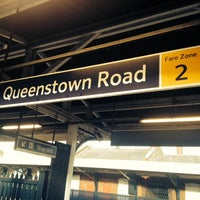 Photo taken at Queenstown Road Railway Station (QRB) by Alexander K. on 10/26/2013