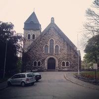 Photo taken at Ålesund kirke by Alexander K. on 5/29/2014
