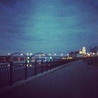 Снимок сделан в Волжская набережная пользователем Anna B. 4/27/2013