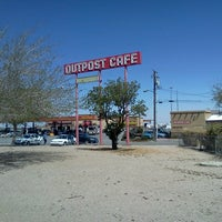 Photo taken at Outpost Cafe & Truck Stop by Ray S. on 4/16/2013