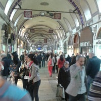 Photo taken at Beyazıt - Kapalıçarşı Tramvay Durağı by Cnyt E. on 4/15/2013