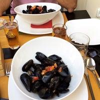 Photo taken at Pescerosso Restaurant by Tuğba on 9/2/2017