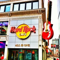 Photo taken at Hard Rock Cafe Toronto by Amir - a. on 4/7/2013