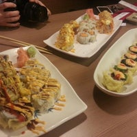 Photo taken at Fujiyama Steak House of Japan by Tony L. on 1/28/2013