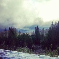Photo taken at Cypress Mountain Lookout by Kai C. on 12/14/2012