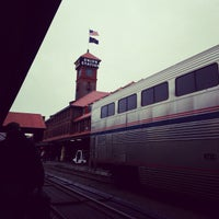 Photo taken at Union Station Amtrak (PDX) by Kai C. on 12/28/2012