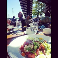 Photo taken at Dockside Restaurant by Kai C. on 5/5/2013