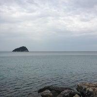 Photo taken at Terzo Molo - Spotorno by Elena B. on 4/25/2013