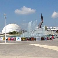 Photo taken at Parque Guanajuato Bicentenario by hannogarcia on 7/28/2013