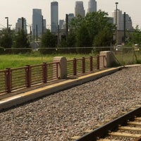 Photo taken at Franklin Avenue LRT Station by Elijah P. on 7/4/2013