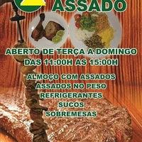 Photo taken at Casa do Assado by Dalyane A. on 3/22/2014
