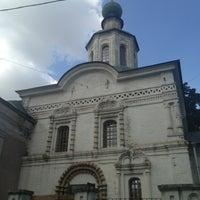 Photo taken at Храм Усекновения главы Иоанна Предтечи под Бором by Natalia R. on 8/3/2013