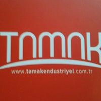 Photo taken at TAMAK ENDÜSTRİYEL LTD. STI. by Sedef K. on 1/23/2014