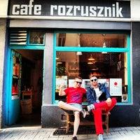 Das Foto wurde bei Cafe Rozrusznik von Michał S. am 4/27/2014 aufgenommen