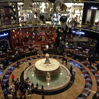 Photo taken at Mall of the Emirates Mosque مسجد مول الإمارات by Diego R. on 11/22/2013
