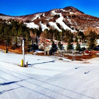 Photo taken at Hunter Mountain Ski Resort by Ryan F. on 3/30/2013