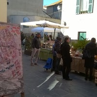 Photo taken at Piazza San Francesco Albenga by Marco S. on 5/13/2017
