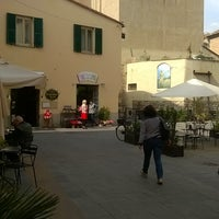 Photo taken at Piazza San Francesco Albenga by Marco S. on 5/7/2016