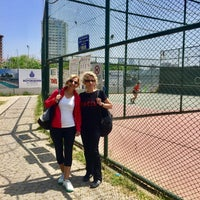 Photo taken at Yoğurtçu Parkı Tenis Kortu by Aysegul T. on 5/4/2018