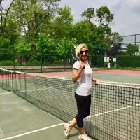 Photo taken at Yoğurtçu Parkı Tenis Kortu by Aysegul T. on 5/10/2018
