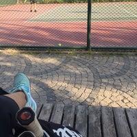 Photo taken at Yoğurtçu Parkı Tenis Kortu by Aysegul T. on 6/4/2018