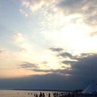 Photo taken at Esse Пляж by Майя Г. on 7/22/2014