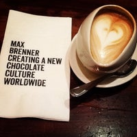 Photo taken at Max Brenner by Daniele C. on 4/19/2013