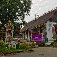 Photo taken at Wat Uppakut by Prim P. on 11/2/2017