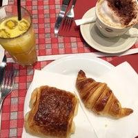 Photo taken at Le Faubourg Café by Prim P. on 10/15/2015