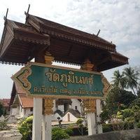 Photo taken at Wat Phu Mintr by Prim P. on 3/2/2017