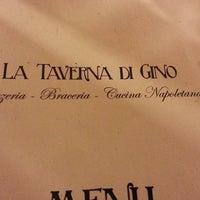 Photo taken at La Taverna Di Pino by Federica L. on 4/9/2013