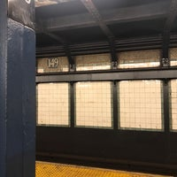 Photo taken at MTA Subway - 149th St/Grand Concourse (2/4/5) by 권간지프로님 on 11/15/2017