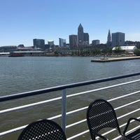 Photo taken at Cuyahoga River by Eric S. on 7/5/2017