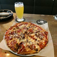 Photo taken at Jolly Pumpkin Pizzeria & Brewery by BJ R. on 8/13/2018