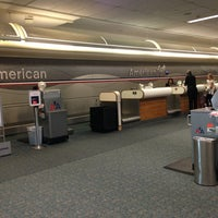 Photo taken at American Airlines Ticket Counter by Jasper W. on 10/3/2013