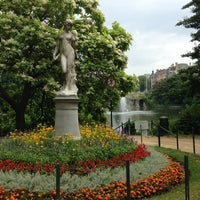 Photo taken at Maria-Louizasquare / Square Marie-Louise by Ioana C. on 7/24/2013