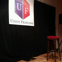 Photo taken at Union Française by Elo D. on 8/26/2016