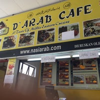 Photo taken at D'Arab Cafe by Nik A. on 11/18/2016