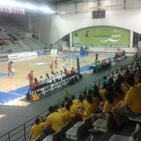 Photo taken at Matosinhos Sport - Pavilhão Municipal by Tânia G. on 7/25/2014