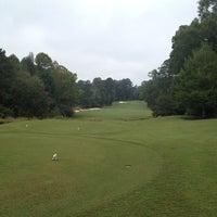 Photo taken at Dancing Rabbit Golf Club by Chris D. on 10/1/2013
