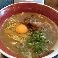 Photo taken at 徳島ラーメン 麺王 高松駅前店 by Yoshiki N. on 7/1/2013