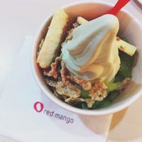 Photo taken at Red Mango by Jeemah V. on 4/20/2013