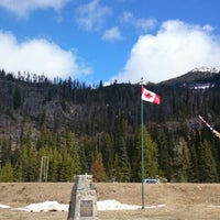 Photo taken at Manning Park Resort by Yvonne C. on 4/18/2014