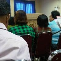 Photo taken at Gereja Tiberias Kota Wisata  Ruko Trafalgar by Lomski A. on 10/7/2012